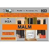 HDO Kleurstift lakstift Touch-Up-Pen voor IKEA Malm White