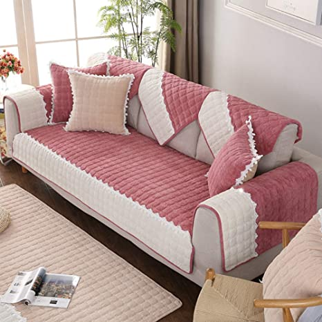 Amazon.com: YEARLY Quilted Sofa Cover, Furniture Protector Slipcover ...