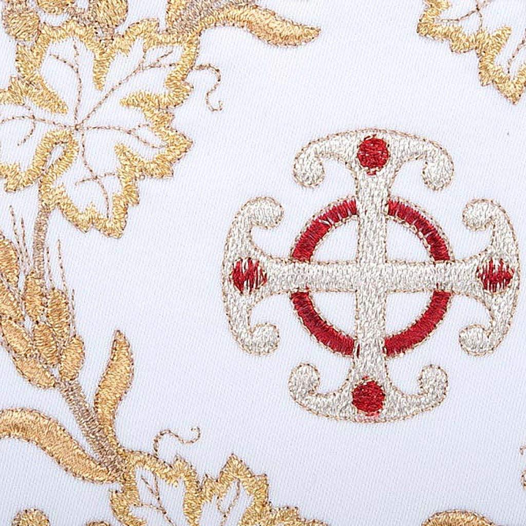 Holyart Servicio para la Misa 4 Piezas Espiga y Cruz Doradas ...