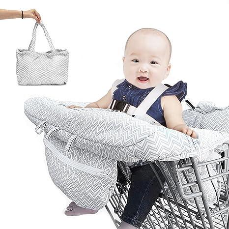CAVEEN Luerme - Funda para silla alta de compras, cojín para ...