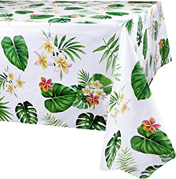 Phogary Hawaiian Luau Tablecloth For Party Decoration 3 Pack Hawaii Disposable Rectangular Table Covers Aloha Tropical Palm Leaves Table Cloth Summer Beach Kids Birthday Cocktail Party Supplies Amazon Co Uk Toys Games