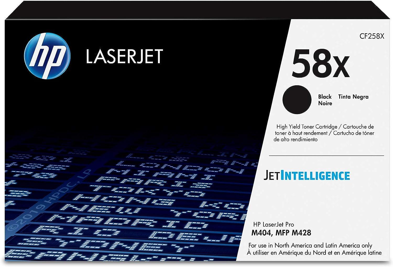 HP 58X | CF258X | Toner Cartridge | Black | High Yield