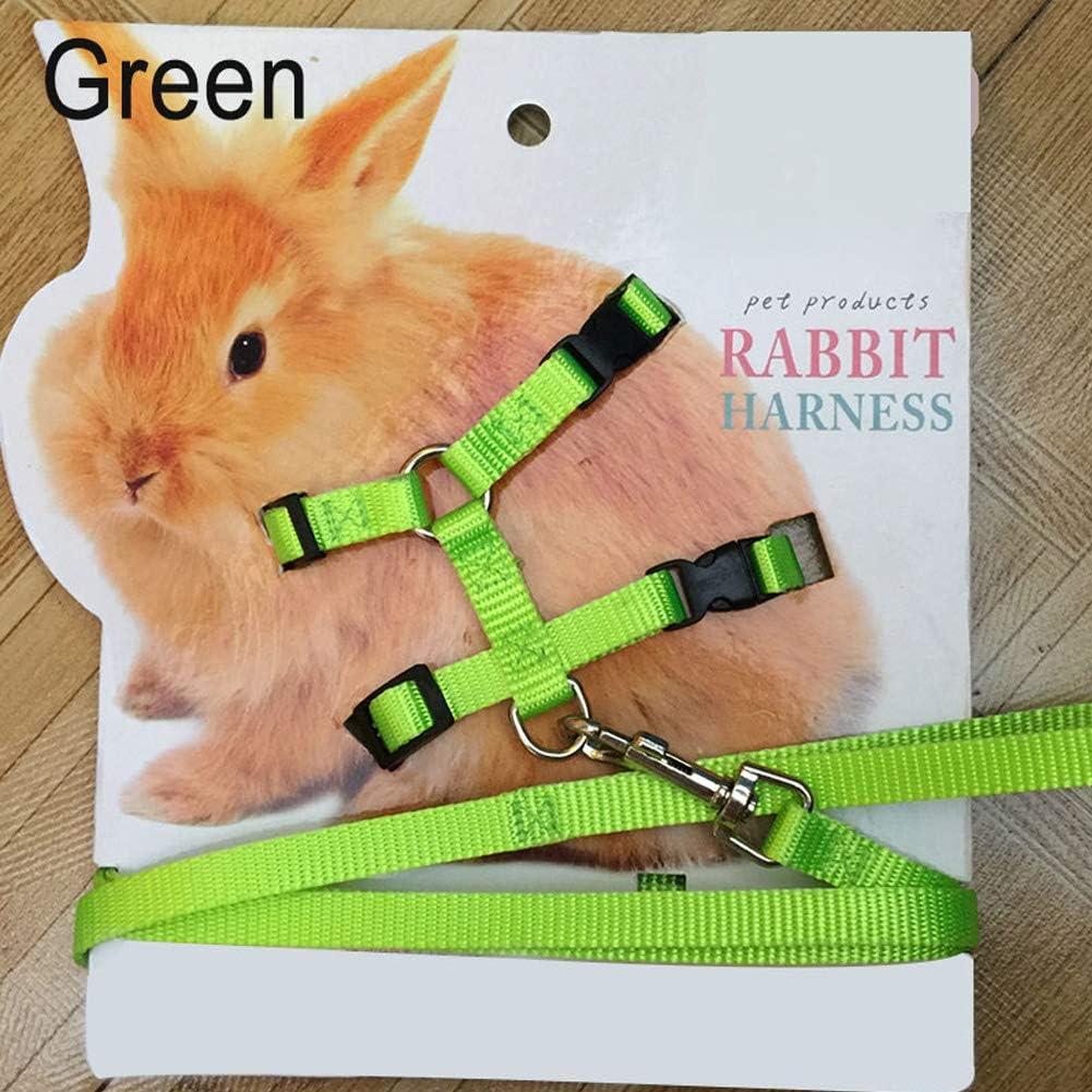 Redcolour® - Arnés de Conejo Suave para Mascotas, Ajustable ...