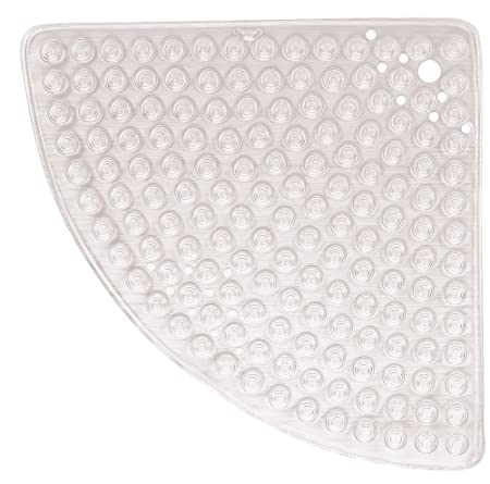 Superb Gedy Funky Bubble Corner Shower Mat Colour: Clear