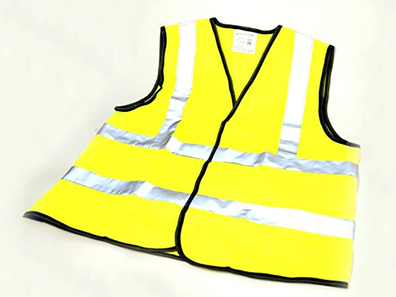 Kinder Signalweste Sicherheits Warnweste Fahrradweste Fahrrad Reflektor Weste