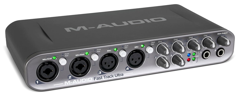 Amazon.com: M-Audio Fast Track 8 x 8 de ultra alta velocidad ...