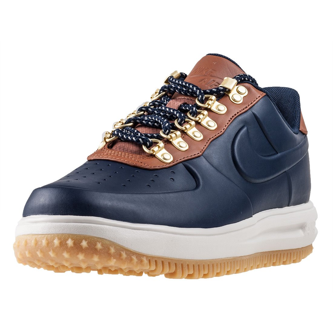 9e72d6bc2ab6 Galleon - NIKE Men s Lunar Force 1 Duckboot Low Obsidian Brown (9.5 D(M) US)