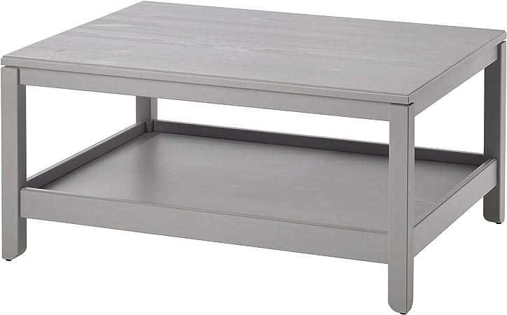 Siu Table Basse En Pin Massif Durable Assemble Longueur 100