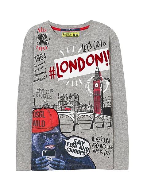Desigual TS_Ringo Camiseta para Niños