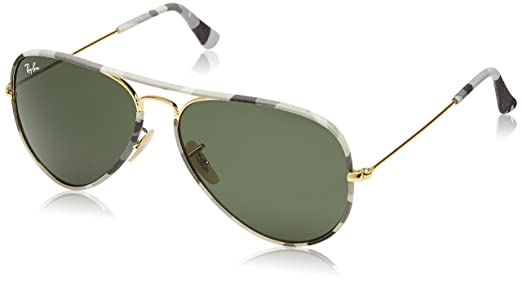 559b0392e2 Amazon.com  Ray-Ban RB3025JM - 171 Sunglasses Aviator 58mm  Clothing