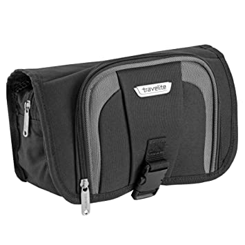 Taschen Travelite Travel Kit Cosmetic Bag L Kulturbeutel Tasche Schwarz Herren-accessoires