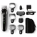 Philips Norelco Multigroom 7100, All-in-one Trimmer con 8 adjuntos