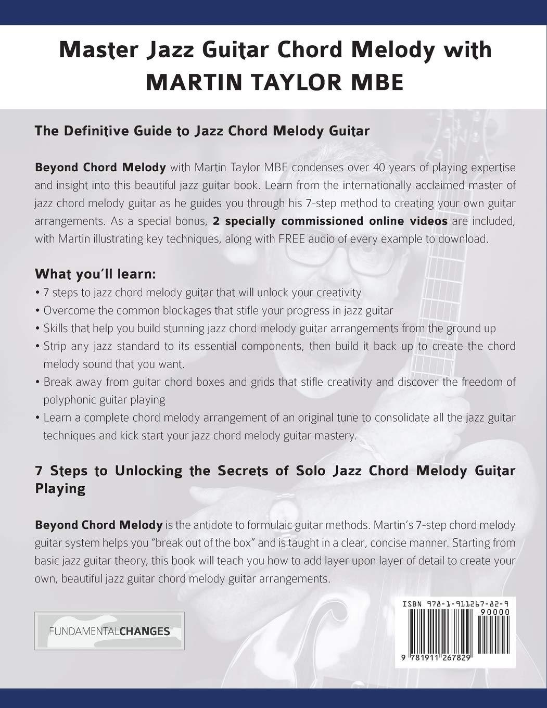 Martin Taylor Beyond Chord Melody: Master Jazz Guitar Chord Melody