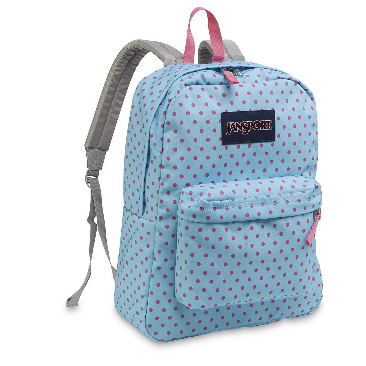 JanSport Unisex SuperBreak¿ Blue Topaz/Lipstick Kiss One Size