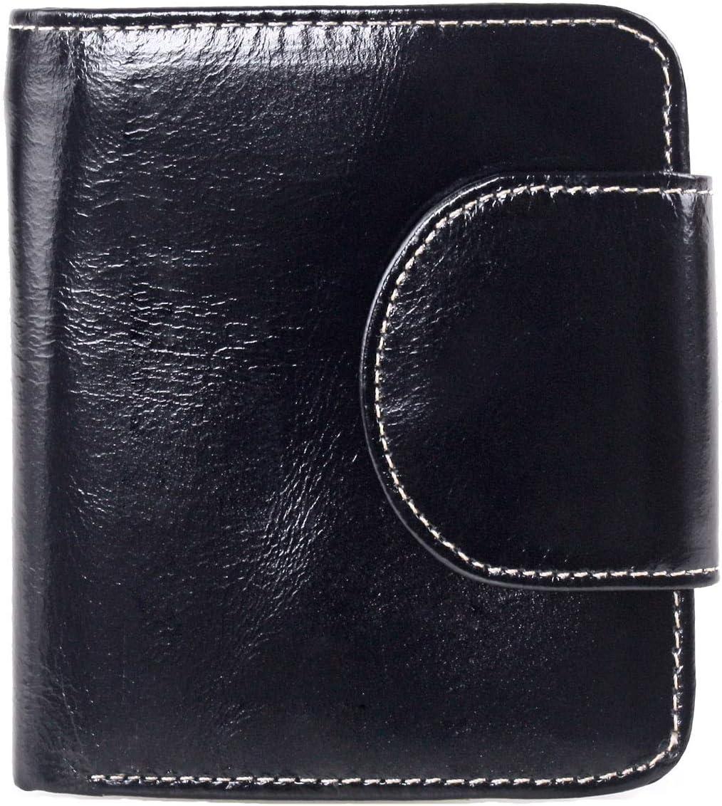 Yafeige Womens Rfid Blocking Slim Leather Card Case Wallet Minimalist Credit Card Holder Small Purse
