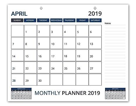 Amazon.com: Calendario de escritorio 2019 – Calendario de ...