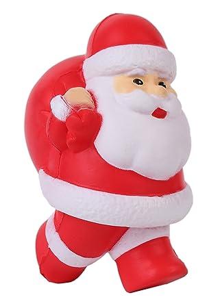 209152f5af424 Vigeiya Squishies Santa Claus Slow Rising Prime Squishy Christmas Toy Jumbo  Kawaii Gift  Amazon.co.uk  Toys   Games