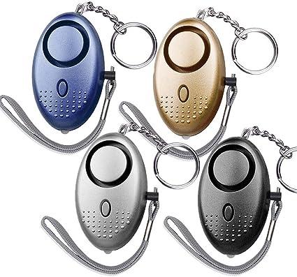 Amazon Com Dland 130db Safesound Personal Alarm Set Of 4