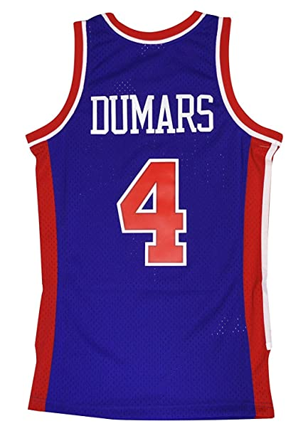 Amazon.com : Mitchell & Ness Detroit Pistons Joe Dumars Swingman Jersey NBA Throwback Blue : Sports & Outdoors