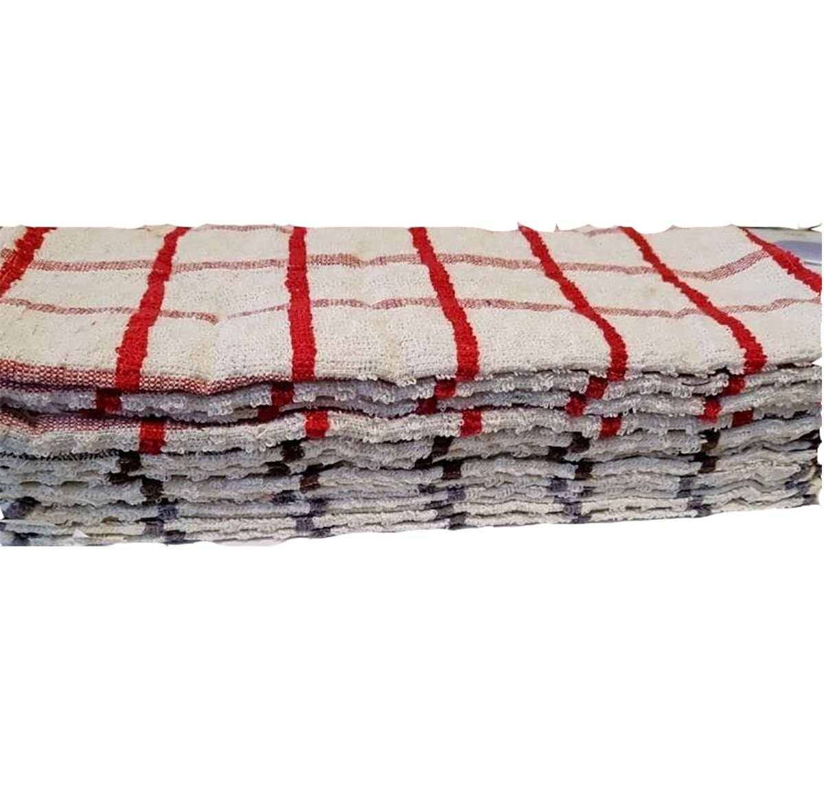 RimiハンガージャンボテリーTea 100 %エジプト綿タオルマルチチェックキッチンディッシュタオル洗濯 2109#US B07C51YBPJ Assorted Colours Pack of 6