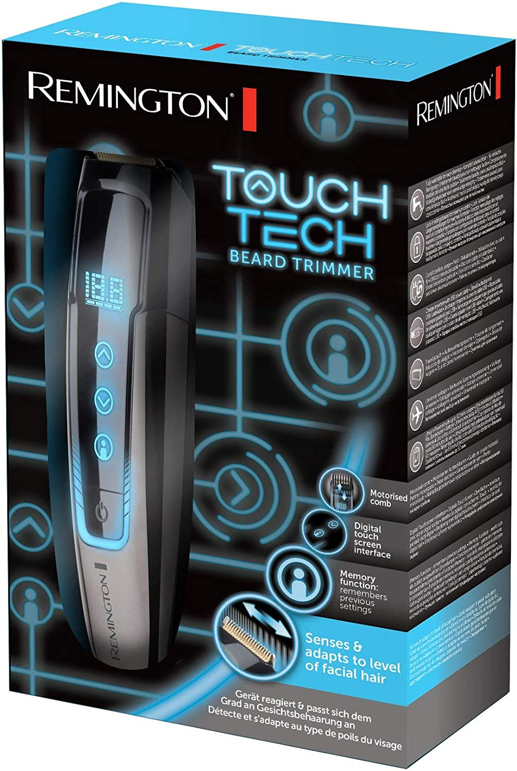 Remington MB4700 TouchTech – Barbero, Cuchillas de Titanio ...