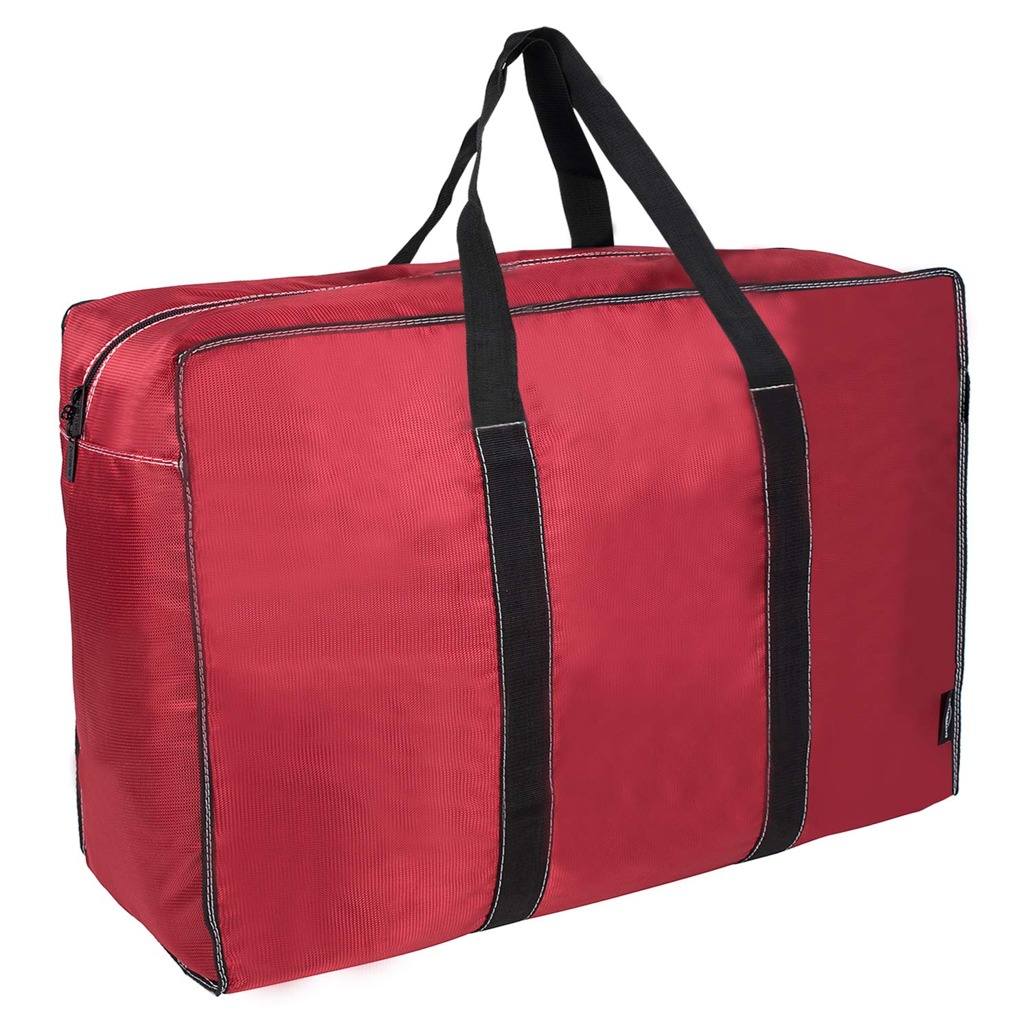 DOKEHOM DKA1015RDXL 130L Thickened X-Large Storage Bag (4 Colors), Fabric Clothes Bag, Ultra Size Under Bed Storage, Moisture Proof (Red, XL)