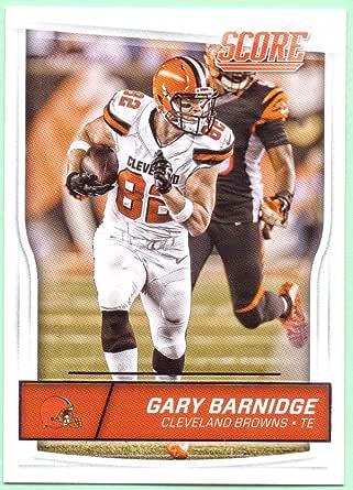 Gary Barnidge 2016 Score #81 - Cleveland Browns at Amazon's Sports ...