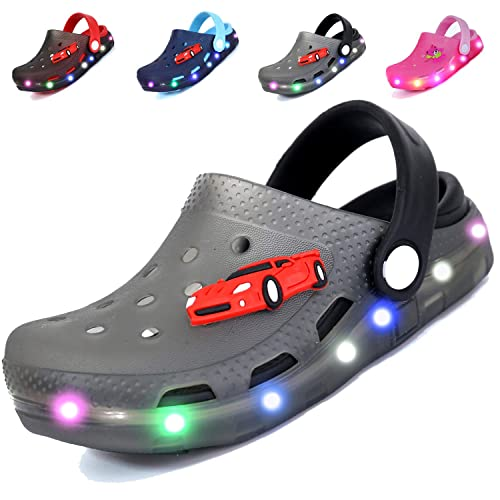 ee5c462472d9 adituo LED Clogs Flash Lighted Sandals Shoes