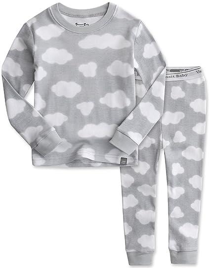 f9944e02193db Vaenait baby 12M-7T Kids Boys Sleepwear Pajama Top Bottom 2 Pieces Set