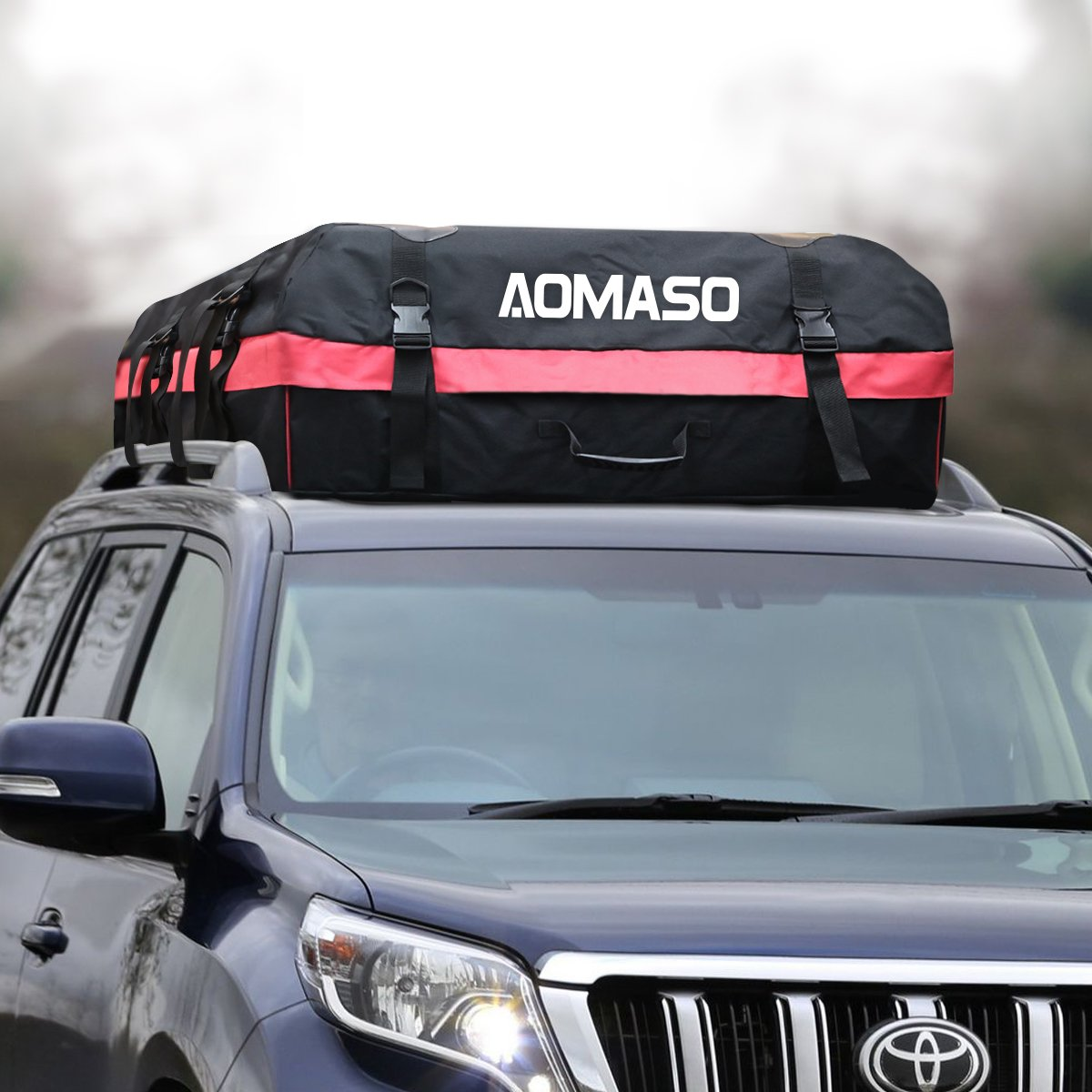 waterproof car top carrier waterproof roof luggage travel cargo rack ebay. Black Bedroom Furniture Sets. Home Design Ideas