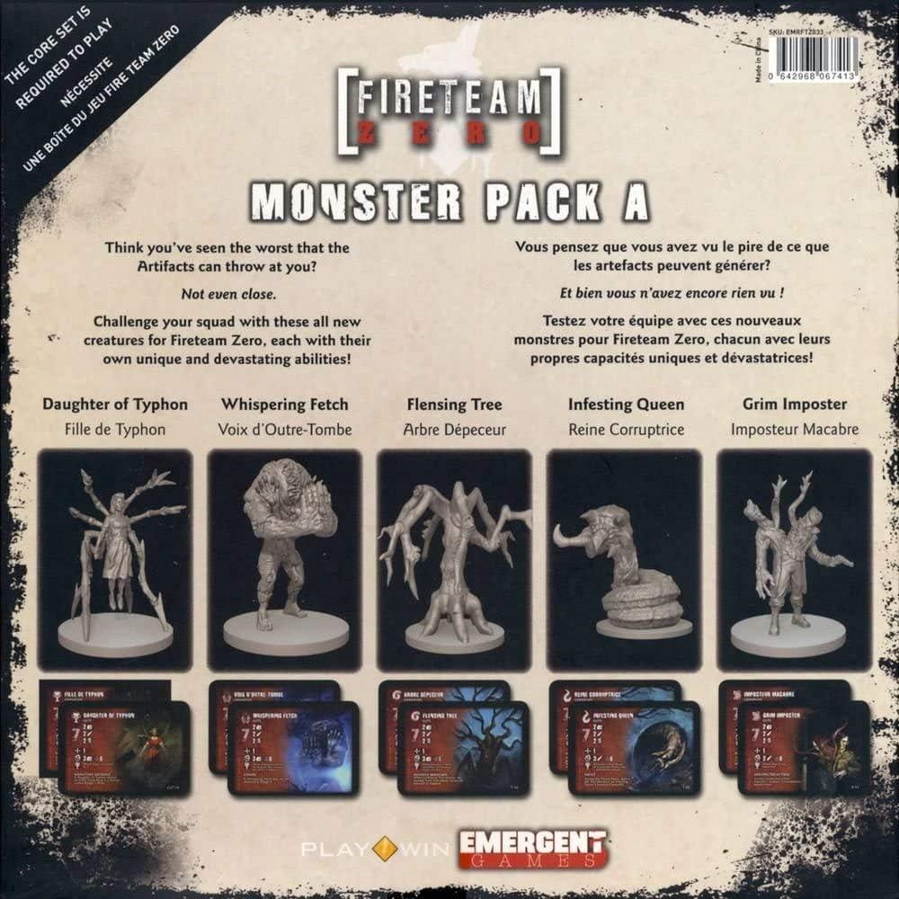 Fireteam Zero: Monster Pack A: Amazon.es: Juguetes y juegos