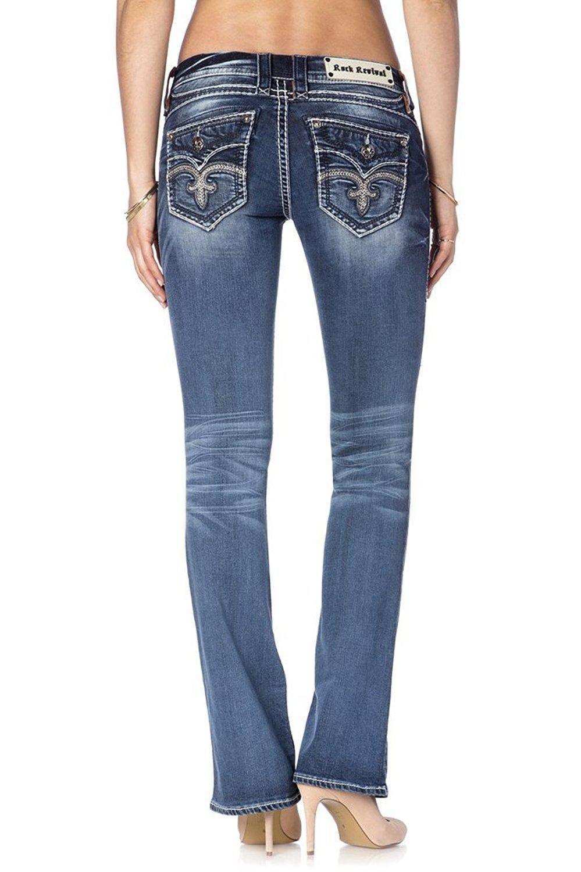Rock Revival Women's Semak B4 Bootcut Jeans (28)