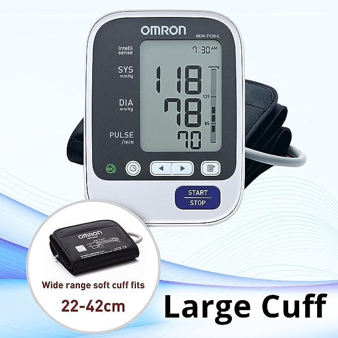 Omron B.P.Monitor Hem-7130-L by Omron: Amazon.es: Salud y cuidado personal