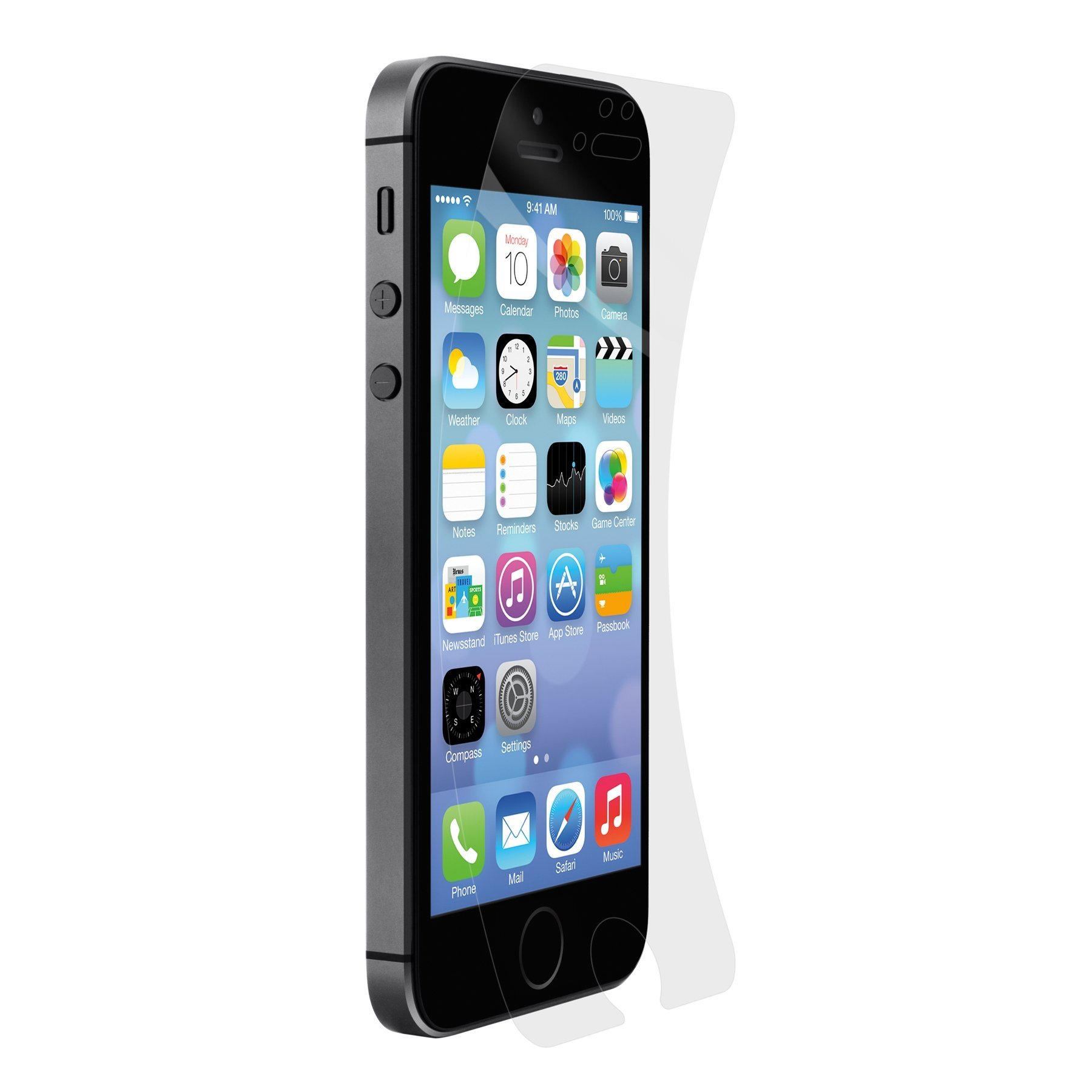 Belkin Trueclear Invisiglass Screen Protector for Apple iPhone 5/5s/5c - Retail Packaging
