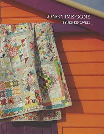 Amazon.com: Long Time Gone Quilt Pattern by Jen Kingwell Designs ... : gone quilting - Adamdwight.com