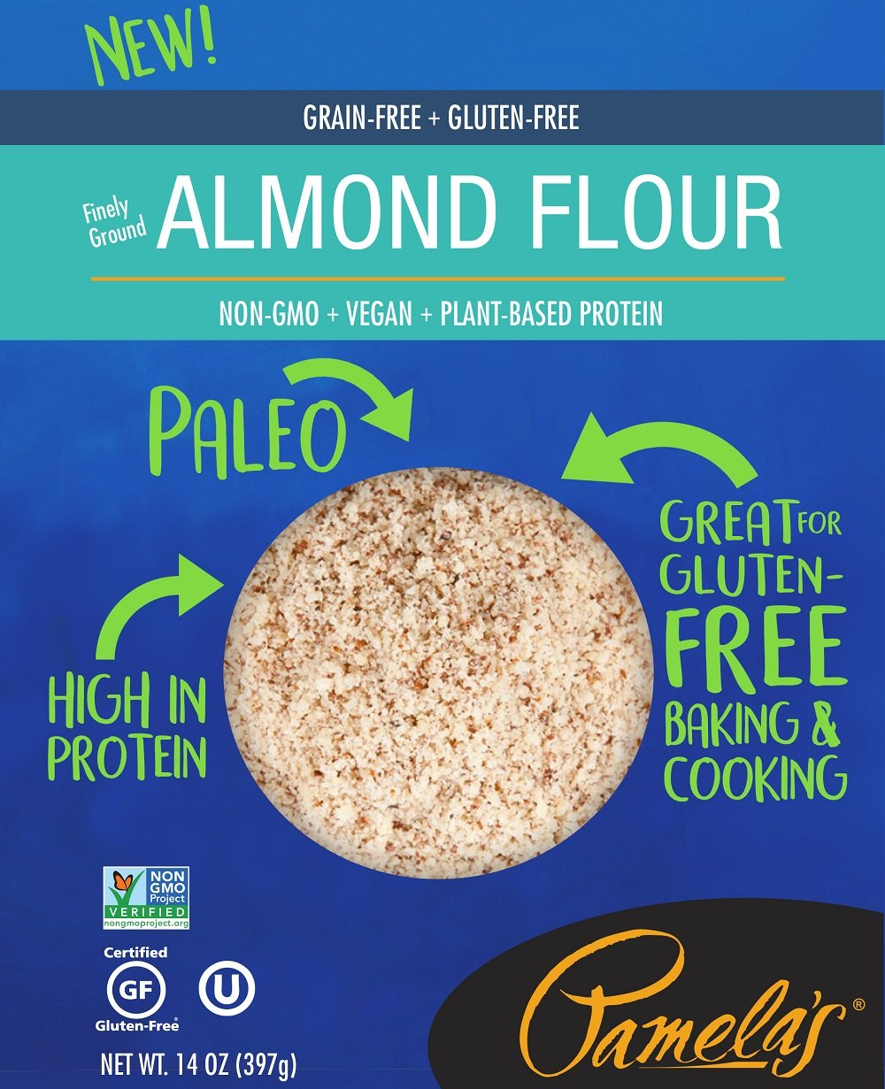 Pamela's Grain-Free and Gluten Free Paleo Almond Flour, 6 Count