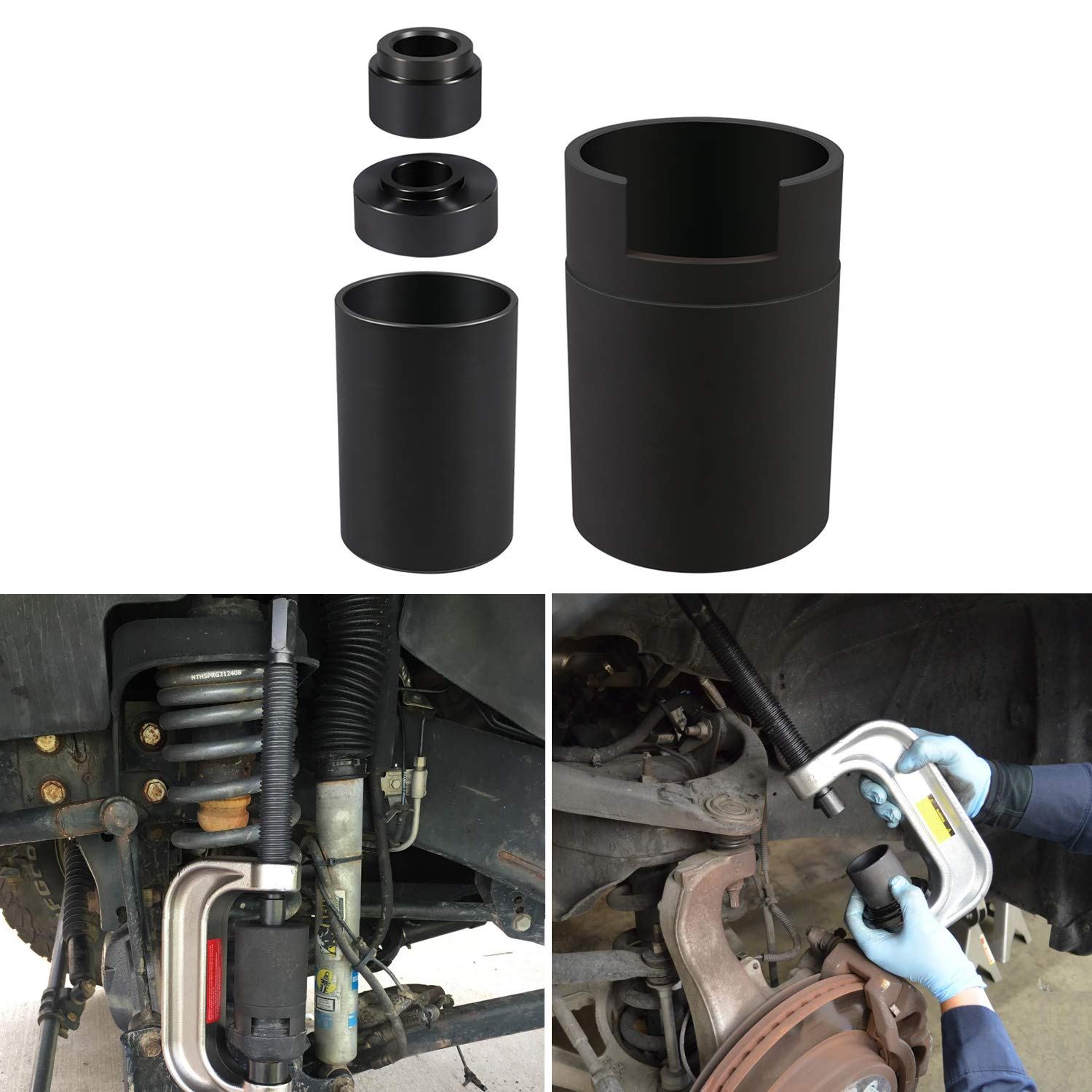 Ball Joint Service Adapter for Jeep/Dodge by Sunluway