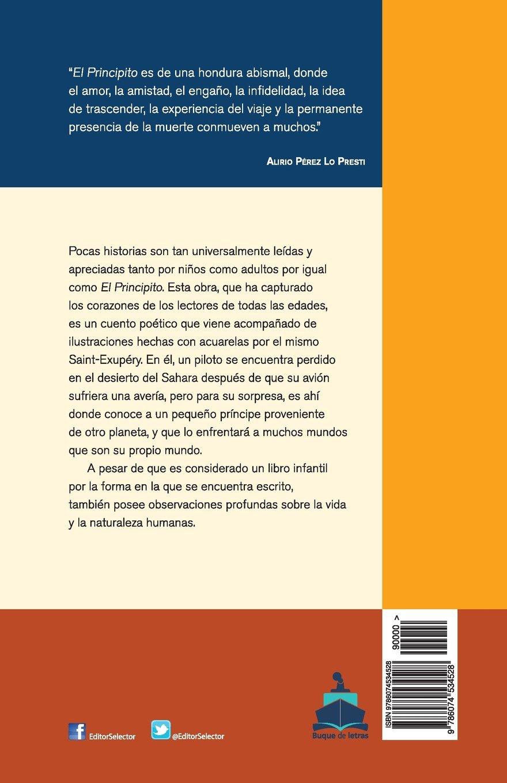 El Principito. Buque de Letras: Amazon.es: Saint-Exupéry, Antoine ...