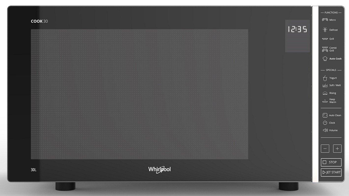 Whirlpool MWP 303 SB Encimera - Microondas (Encimera, Microondas combinado, 30 L, 900 W, Tocar, Gris): Amazon.es: Hogar