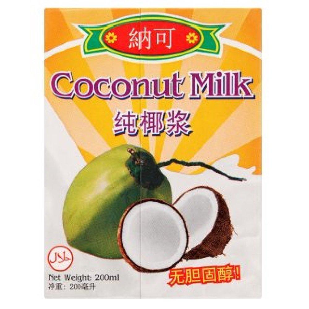 Naco Coconut Milk 200ml (628MART) (3 Packs)