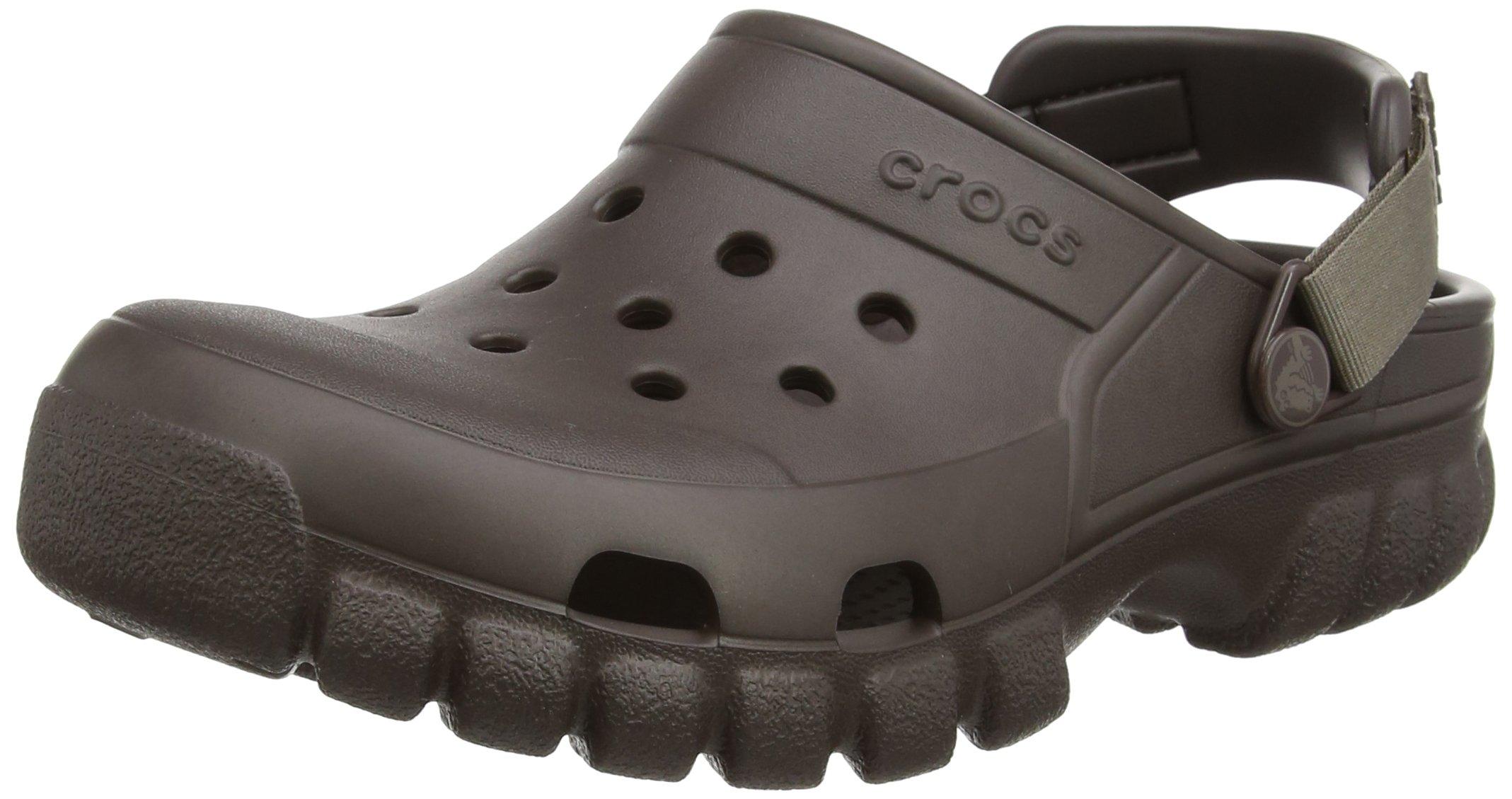 Crocs Unisex Offroad Sport Clog, Espresso/Walnut, 12 M (D) US Men's/14 M (B) US Women