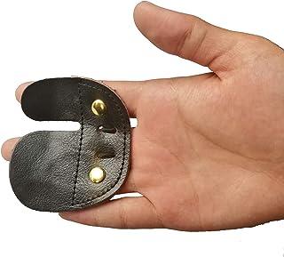 Aboval 1 pc de Protection en Cuir pour droitier Noir