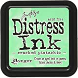 Ranger January Distress Ink Pad Cracked Pistachio, Green