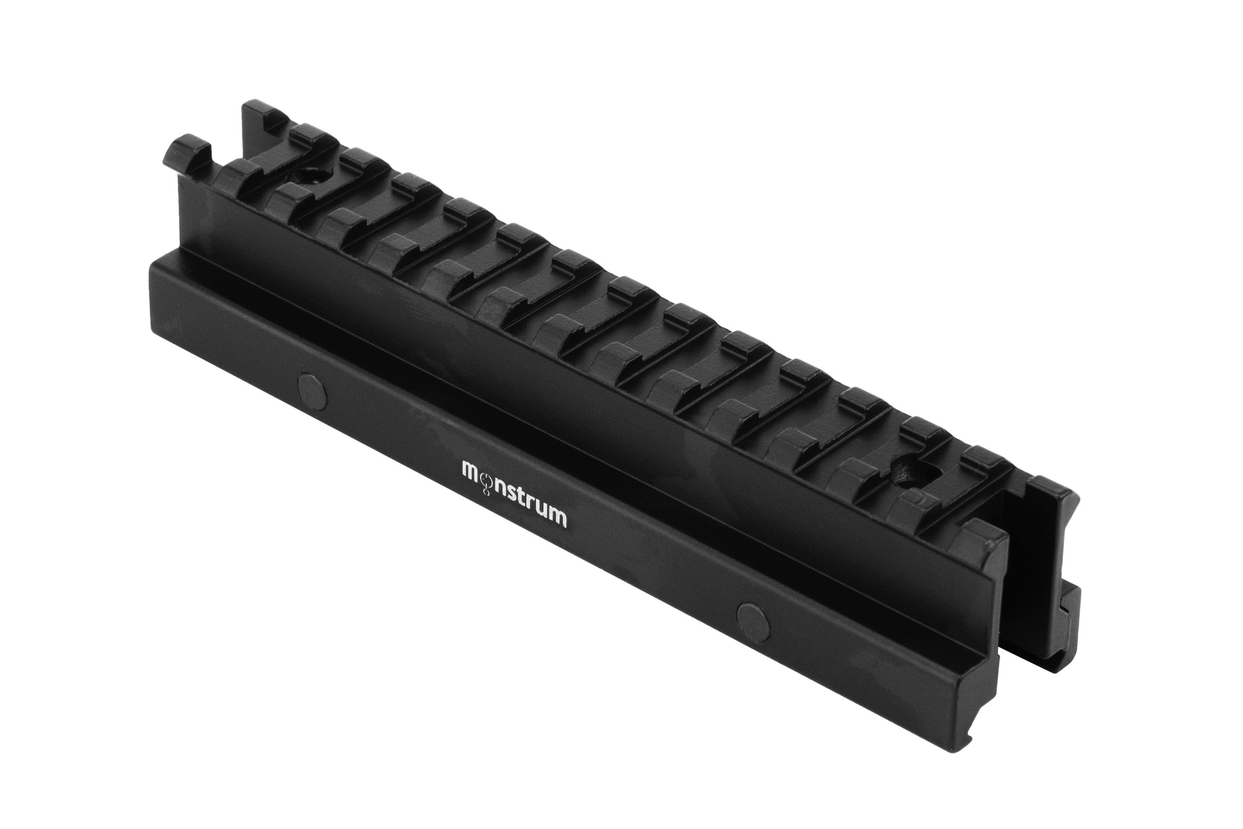 Monstrum Tactical High Profile Picatinny Riser Mount (1'' H x 5.7'' L), for Scopes and Optics