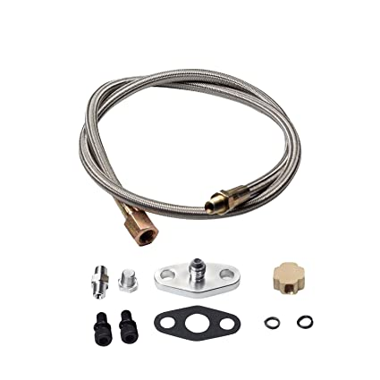 Automobiles & Motorcycles Evil Energy Turbo Oil Feed Line 10an Fitting For Turbocharger T3 T4 T04e T70 T60 T61 Gt35 Turbo Oil Feed Line Oil Drain Line Kit Reputation First