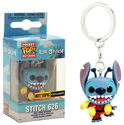 MPreview Pocket Pop! Keychain Disney Lilo & Stitch Exclusive Stitch 626