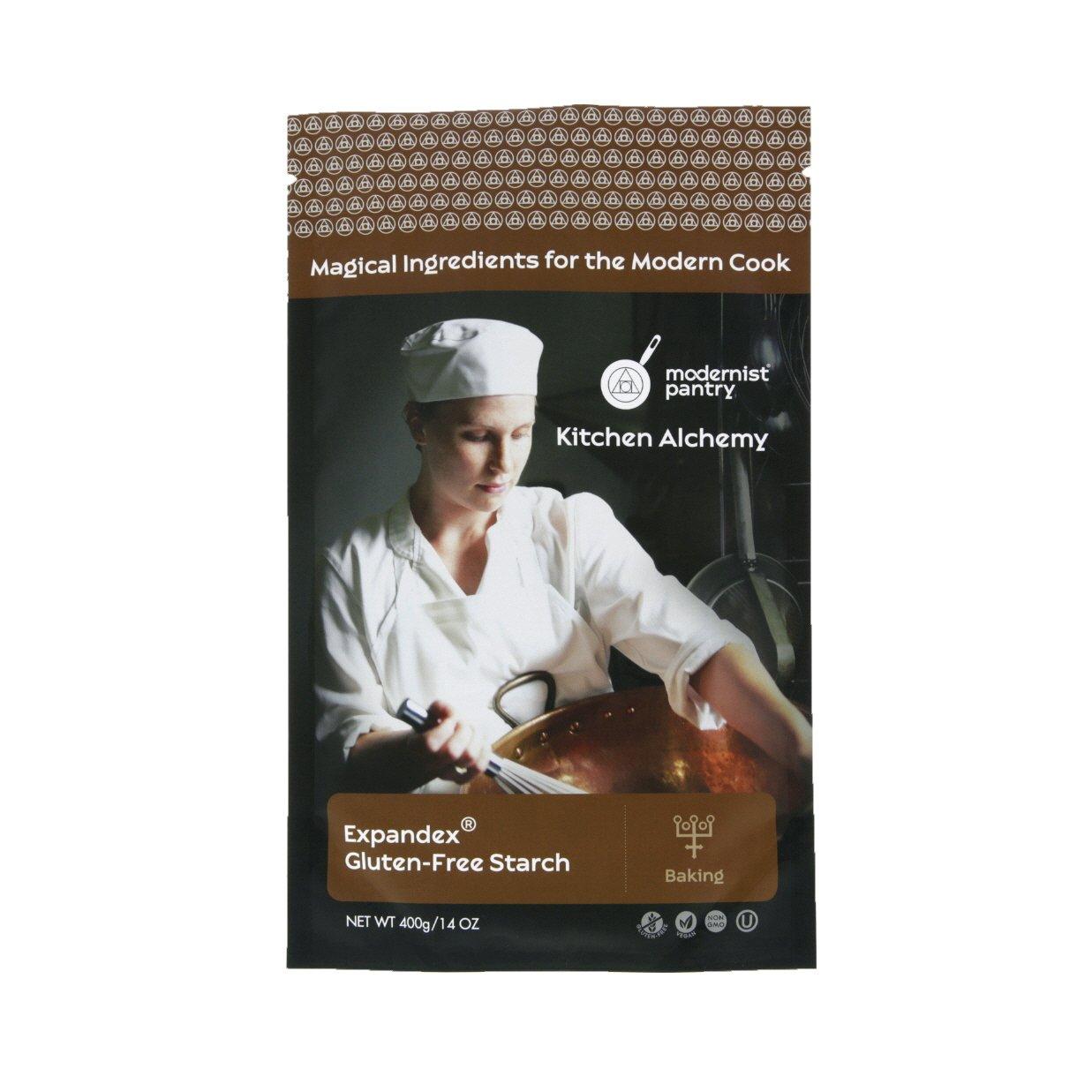 Expandex GF Tapioca Starch - 400g/14oz (Gluten-Free Baking) ⊘ Non-GMO ❤ Gluten-Free ☮ Vegan ✡ OU Kosher Certified