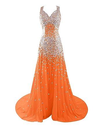 Qualité supérieure b9d3a 57e43 Dressystar Robe de soirée de concours de beauté de perles à ...
