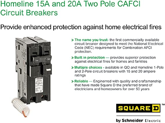 22 AVAIL HOM215CAFI SQUARE D HOMELINE NEW IN FACTORY BOXES FREE SHIPPING