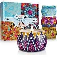 mreechan Vela perfumada,perfumada,Vela perfumada Natural Wake Box 4